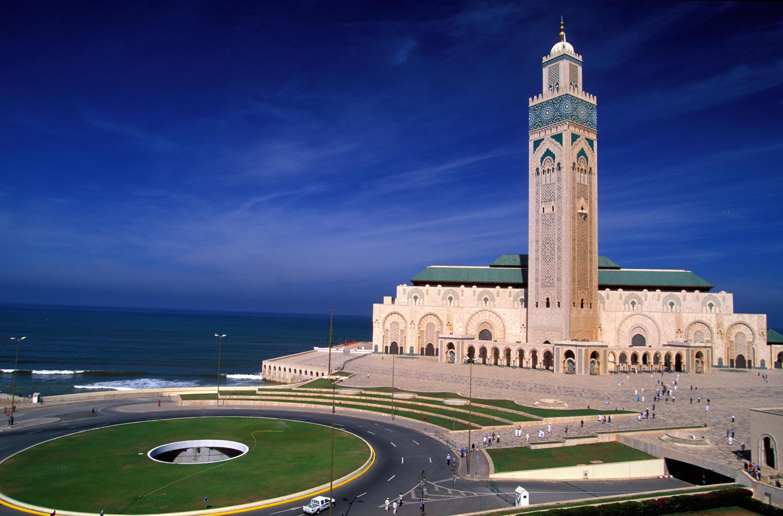 Mesquita Hassan II, Casablanca.