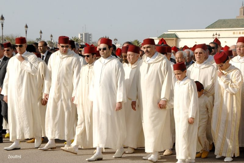 Família real de luto no Marrocos