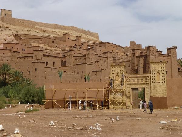 Kasbah (pequena fortaleza) de Aït-Ben-Haddou