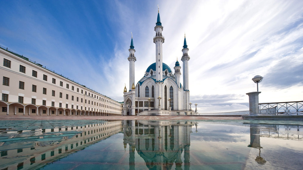 Mesquita Islâmica de Kul Sharif, em Kazan