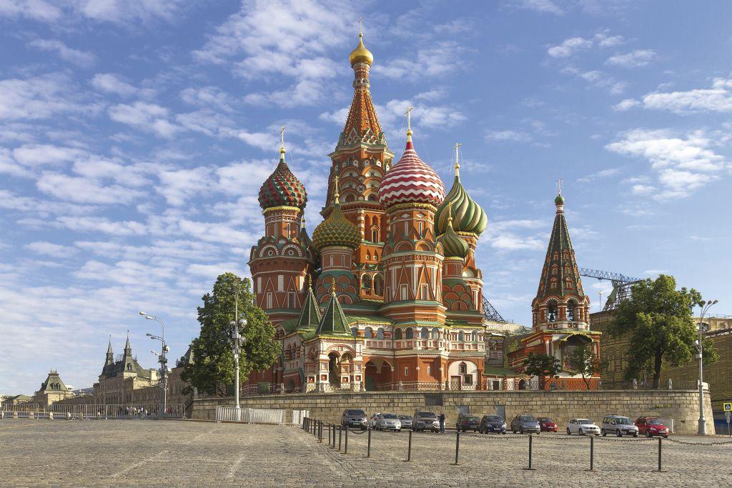 Catedral de São Basílio em Moscou, Russia