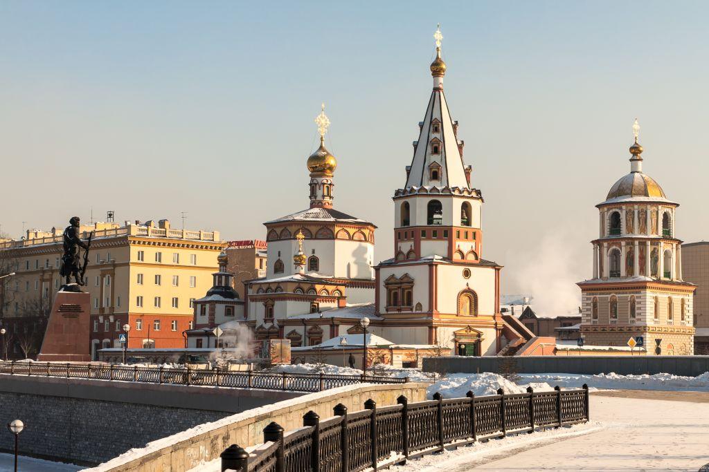 Igreja Ortodoxa em Irkutsk, Rússia