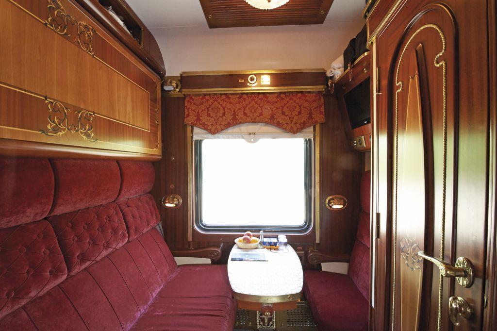 Cabine Nostalgic Comfort do Trem Zarengold