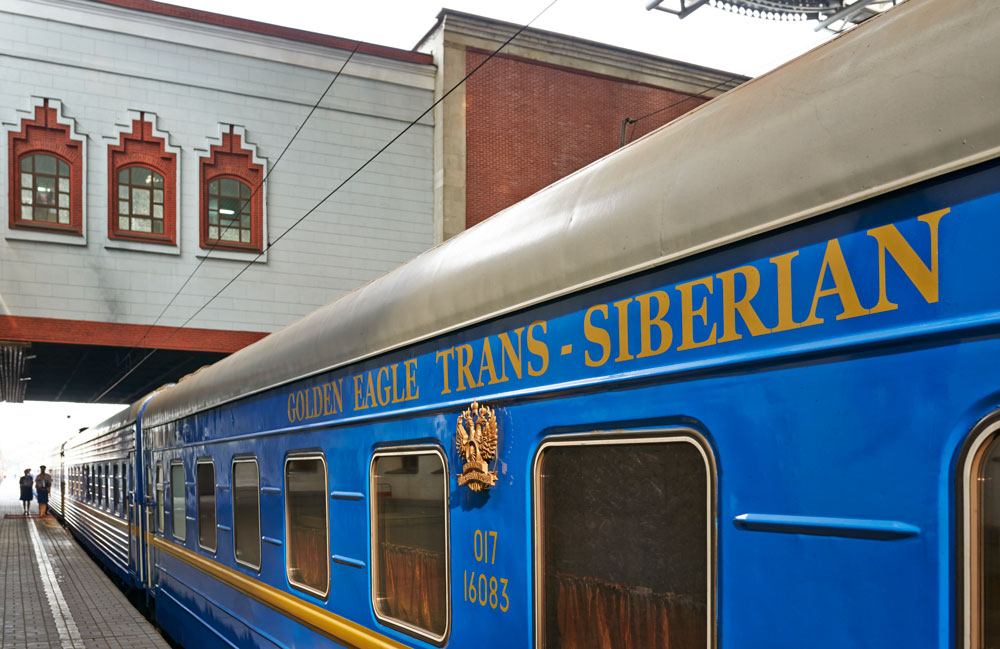 Trem Transiberiano Golden Eagle