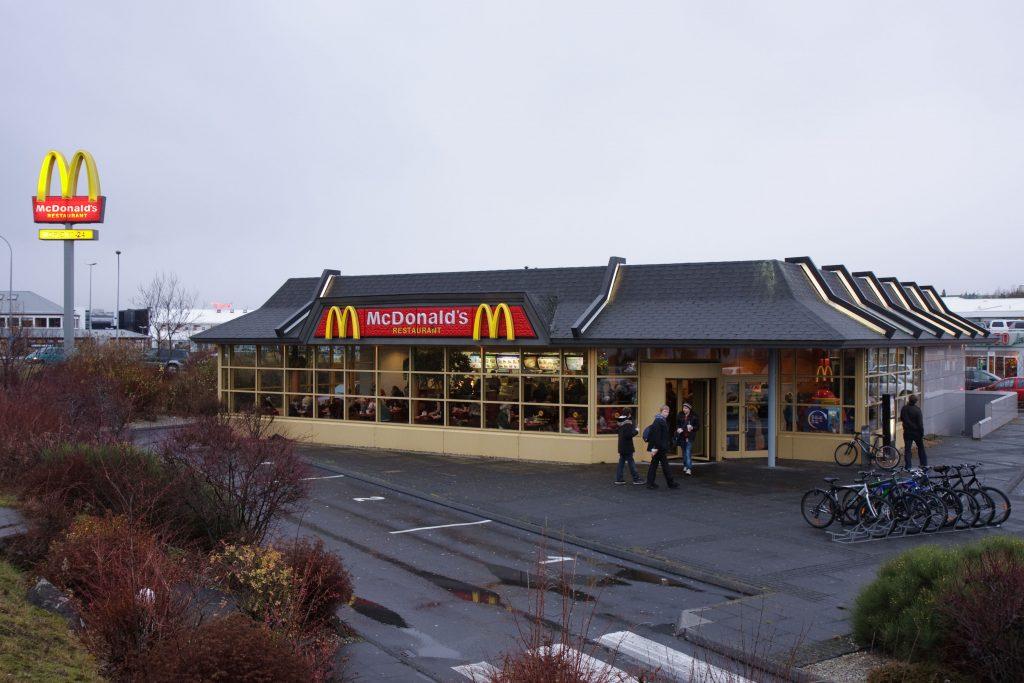 Último McDonalds da Islândia